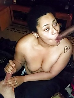 Photo Compilation Of A Nude Black Girlfriend Exposing Her Labia