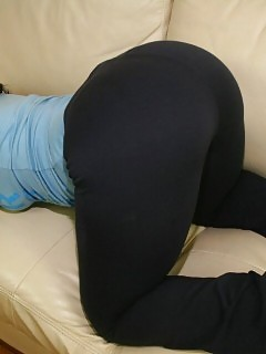 Black In Yoga Pants Black Bitch
