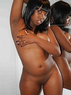 Sexy Pretty African Goddess Natural Ebony