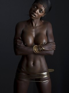 Sexy Pretty African Goddess Ebony Self
