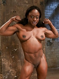 Muscle Black Women Ebony Ass
