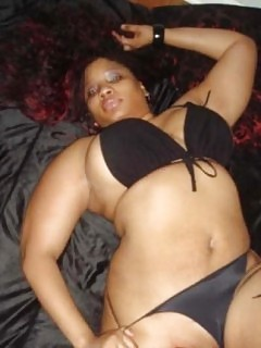 Fatty Black Gfs Ebony Ballbust