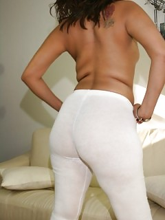 Black In Yoga Pants Ebony Pornstar