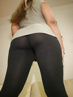 Black In Yoga Pants Black Babe