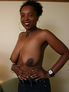 Sexy Pretty African Goddess Ebony Squirter